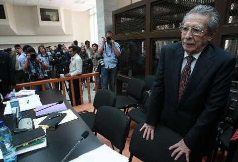 Rios Montt vs. Guatemala: Por primera vez un Estado juzga a su ex-presidente por genocidio